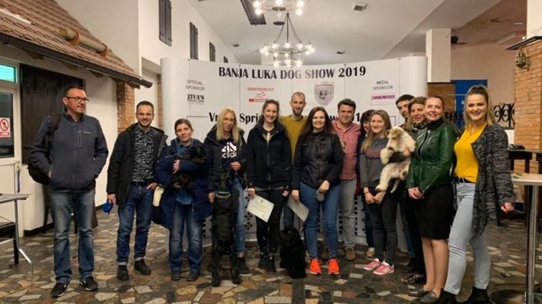 Vrbas Spring Terierr show in Banja Luka